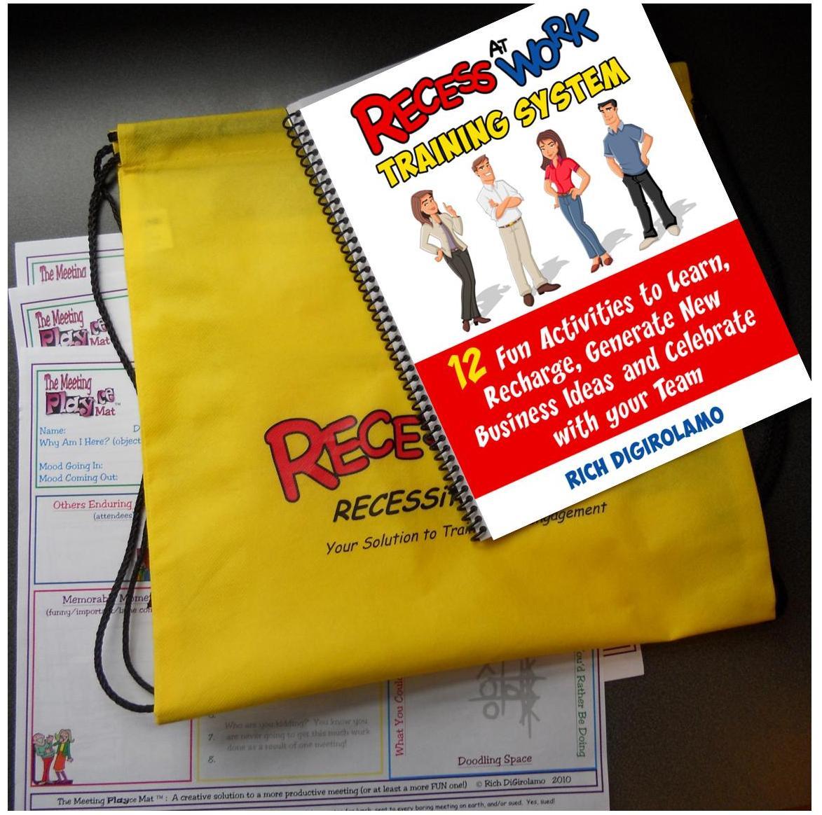 THE RECESS AT WORK Manual