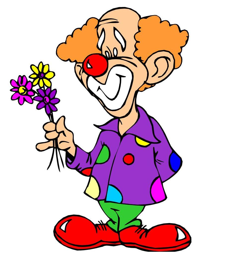 spend less time with the same old and more time clowning