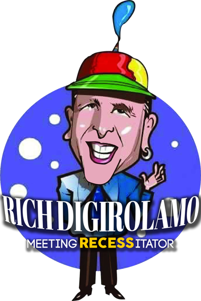 Website of Rich DiGirolamo Motivational Business Humorist with lots of content and ideas